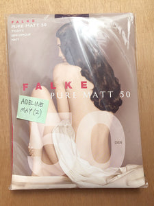 PANTYHOSE of ADELINE 2017-05(2) - Falke Pure Matt 50