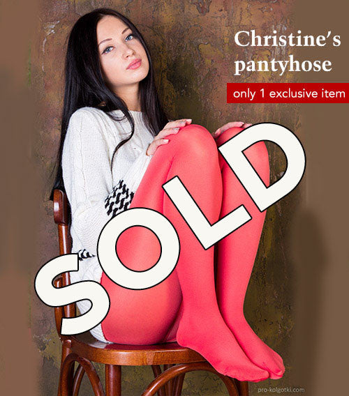 Pantyhose of Christine from 03-2016-1