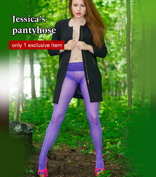Pantyhose of Jessica from 07-2016-2
