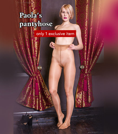 Pantyhose of Paola from 03-2016-1