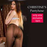 Pantyhose of Christine - Double Seam