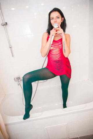 PANTYHOSE of VERONIKA 2018-02(1) TRIMFIT GREEN