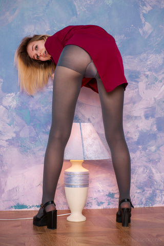 PANTYHOSE of KSENIA 2018-07(2) JOCKEY GREY
