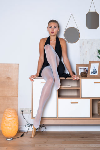 PANTYHOSE of EMMA 2018-11(2) CONTE 40 WHITE