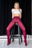PANTYHOSE of VIKTORIA 2019-03(1) INEXTENSO DARK RED