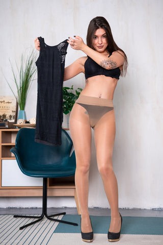 PANTYHOSE of ALICE BLACK 2019-03(2) GOLDEN LADY MY SECRET 40