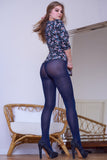 PANTYHOSE of DIA 2019-04(1) INEXTENSO 50 BLUE