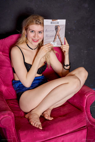 PANTYHOSE of ANNETTA 2019-05(2) Wolford Satin Touch 20