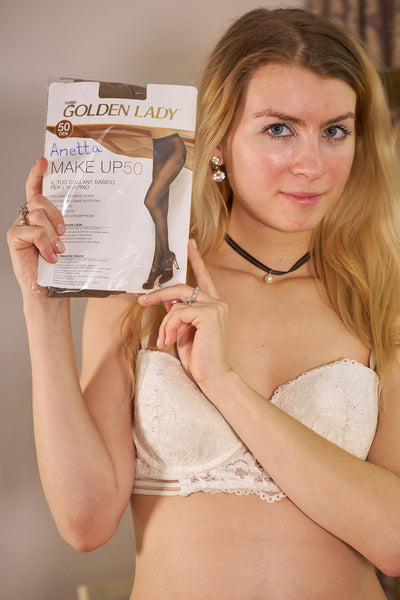 ANETTA'S PANTYHOSE - GOLDEN LADY MAKEUP 50 from 2020-02(2)
