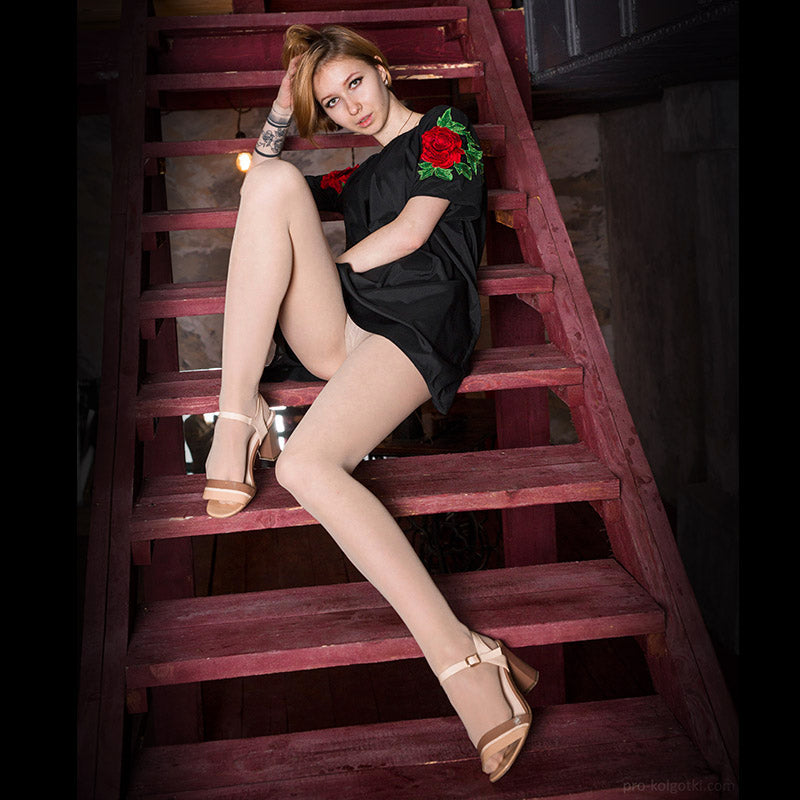 PANTYHOSE of KSENIA 2017-11(2) - Wolford Satin Touch 15