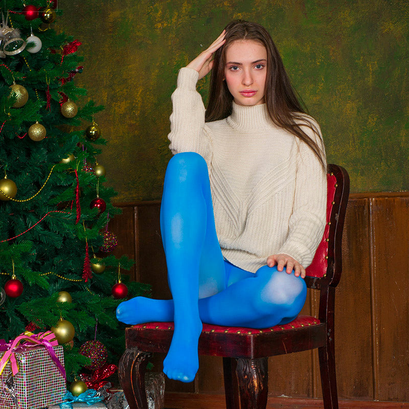 PANTYHOSE of STACEY 2017-12(1) Blue