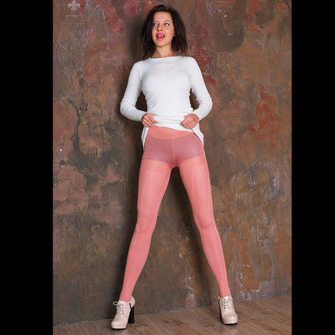 PANTYHOSE of VERONIKA 2017-12(1) MUSIFU VOGUE pink