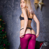 PANTYHOSE of VIKTORIA 2017-12(2) HUE Purple