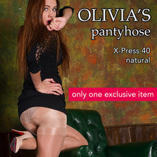Pantyhose of OLIVIA 2017-02 X-PRESS 40 natural