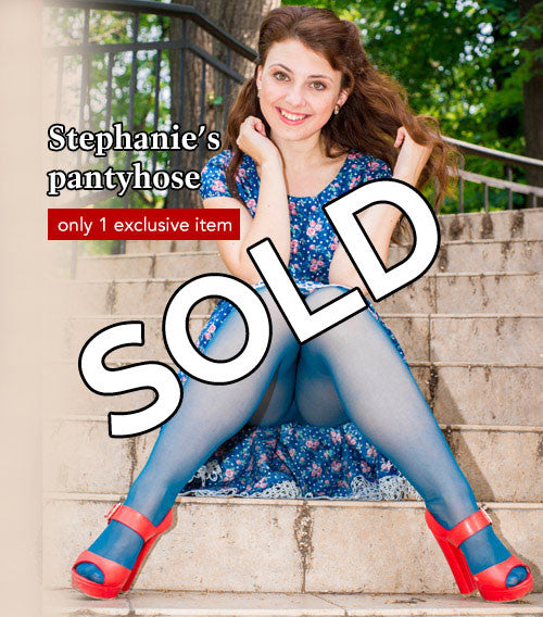 Pantyhose of Stephanie from 08-2016-1