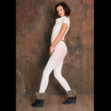 PANTYHOSE of VERONIKA 2017-12(1) MUSIFU VOGUE white