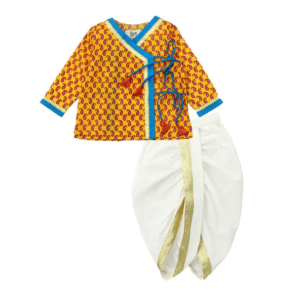 Little Boys Angarakha Dhoti