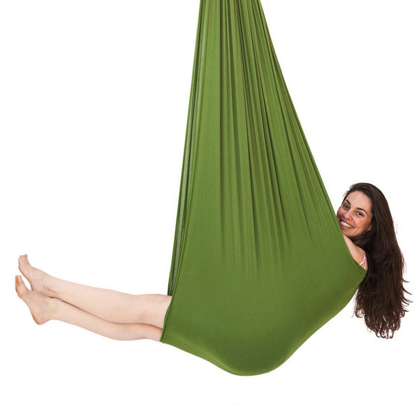 Jumbo Therapy Swing Green For Autistic Adults Inyard