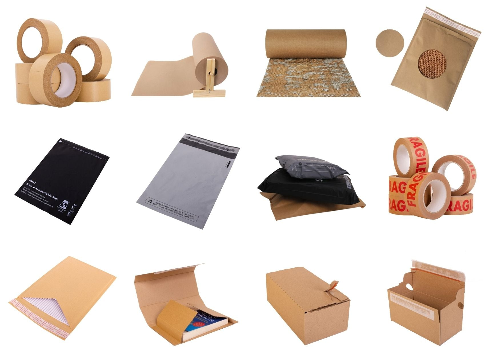 Recycled Packaging | SR Mailing Ltd