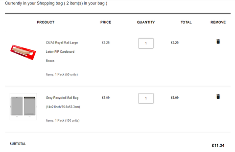 SR Mailing   Sustainable eCommerce Packaging