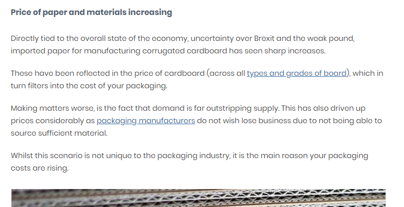 February 2021  Industry Update   SR Mailing   Sustainable eCommerce Packaging