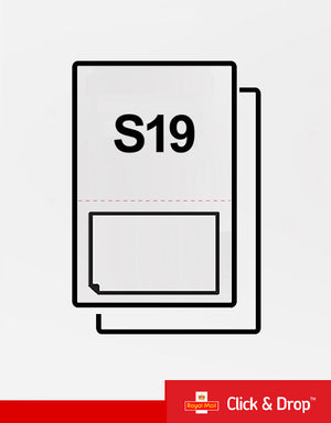 (SRL19) Single Integrated Label.
