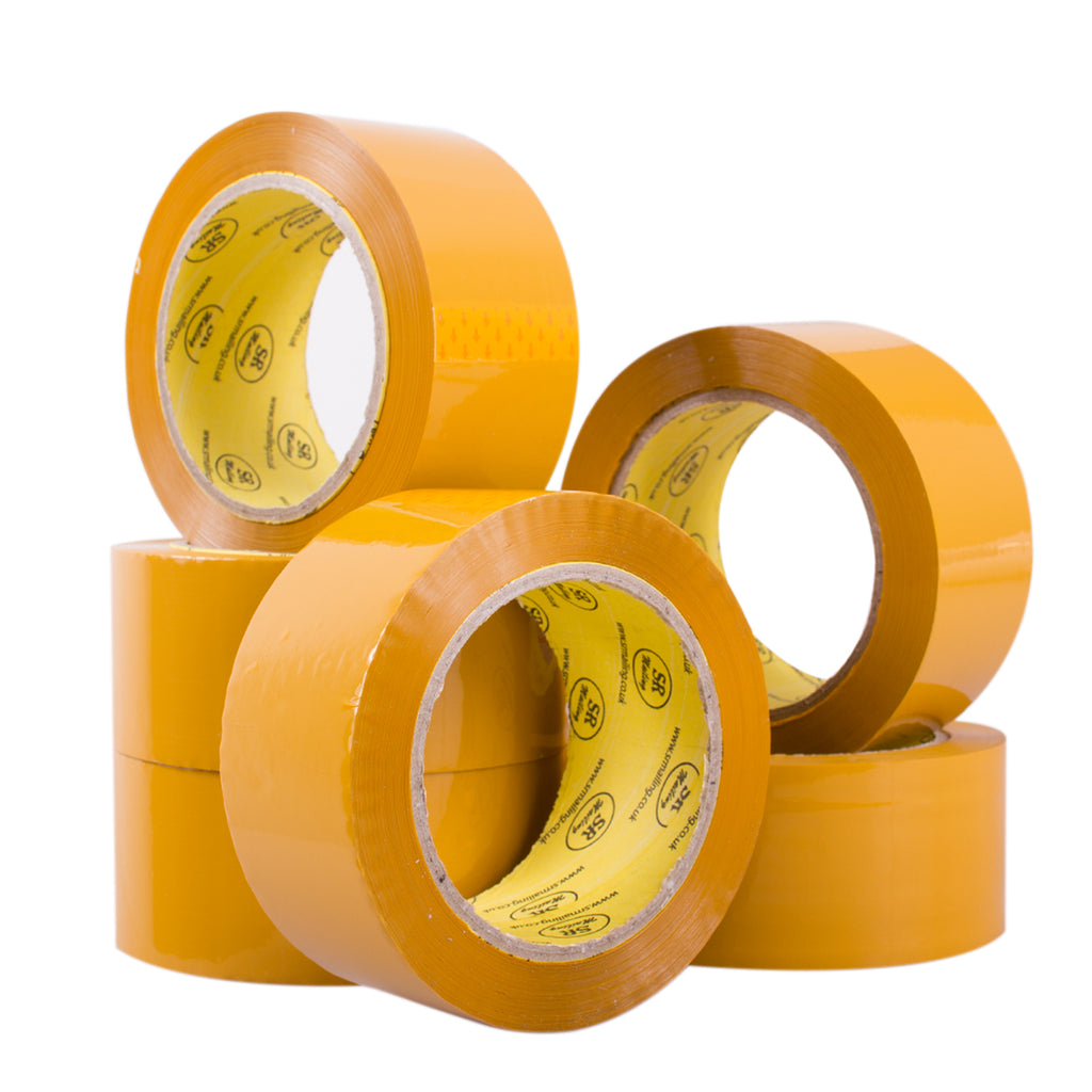 48mm x 91m (100yards) Brown Tapes