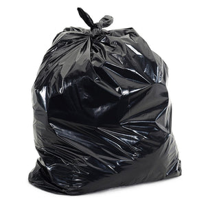 Heavy Duty Black Bin Bag 160G, 200/Box,SR Mailing,