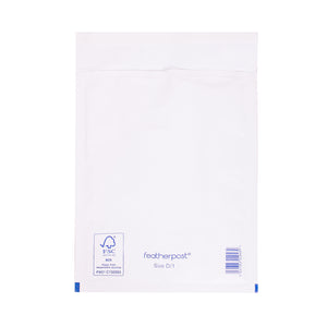 Padded Bubble Envelope in White Internal Size 180x265mm D/1