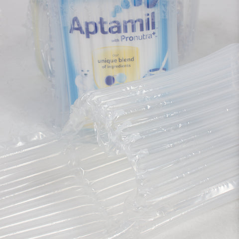 Air Pouch, Pillow Sheet, Bottle Protector, Void Fill Protective Packaging