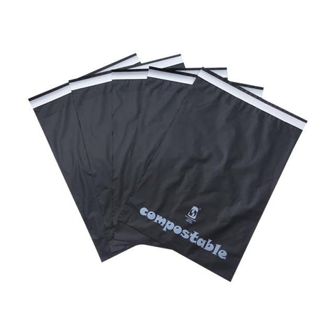 Compostable Black Mail Bag A3 Size 399x455mm,SR Mailing Ltd,