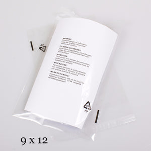 "9x12"" OPP Transparent Packaging Bag"