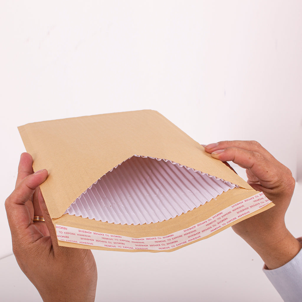Brown Corrugated Padded Envelope F/3