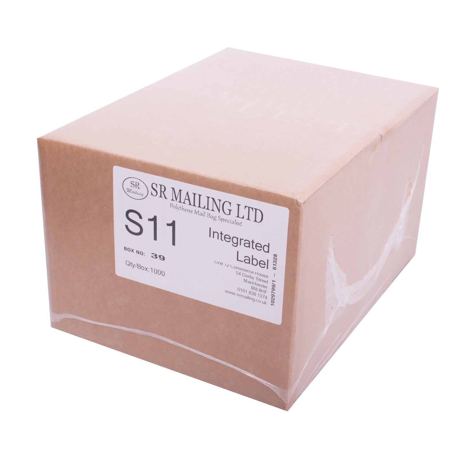 (SRL11) Single Integrated Label,SR Mailing,