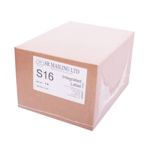 (SRL16) Single Integrated Label | SR Mailing | Sustainable eCommerce Packaging.