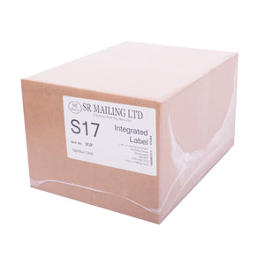 (SRL17) Single Integrated Label | SR Mailing | Sustainable eCommerce Packaging.