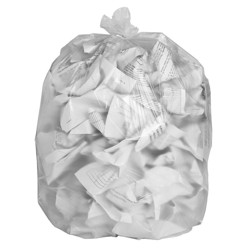 Heavy Duty Clear Bin Bags