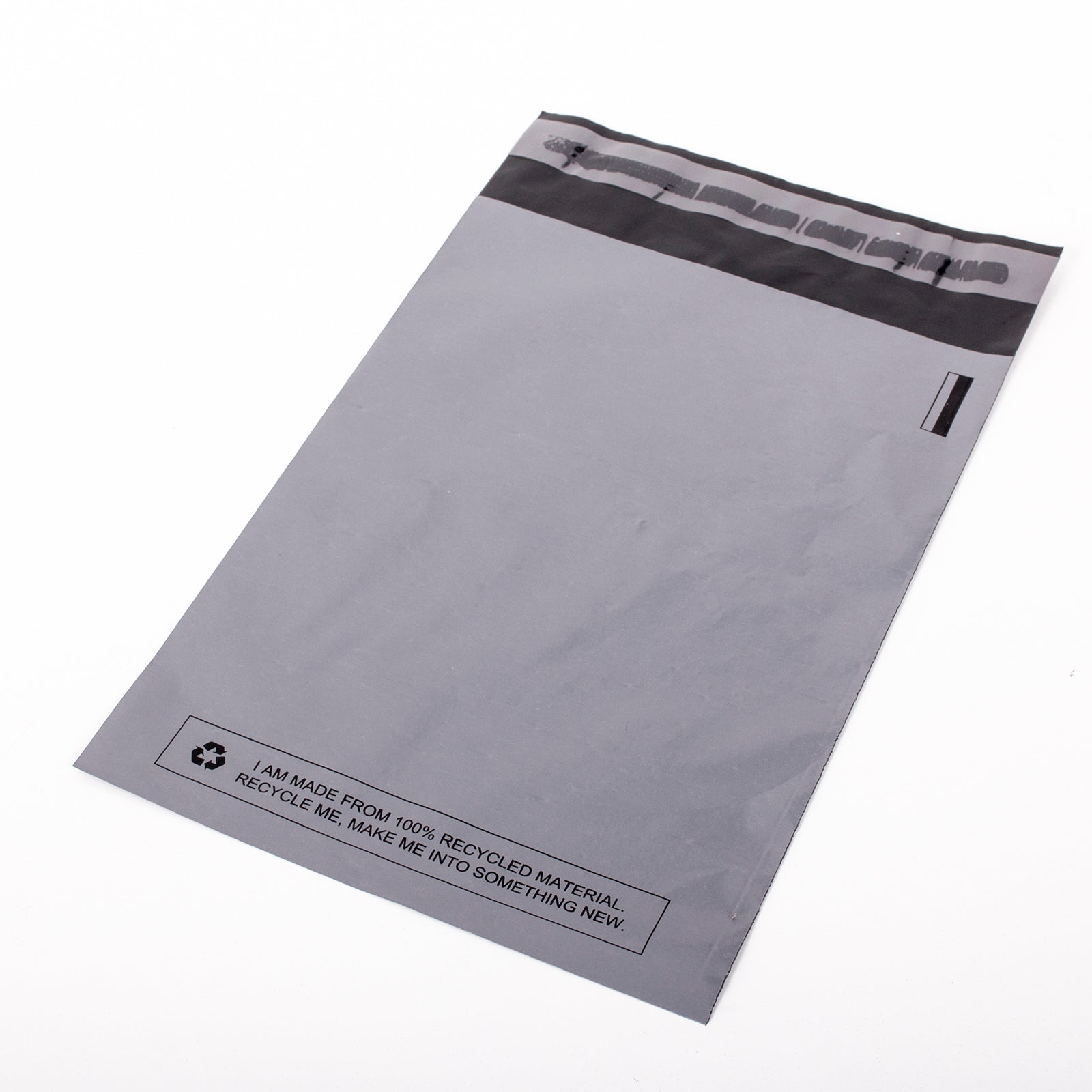 Grey Recycled Mail Bag <br>(9x12 inch/22.9x30.5cm)