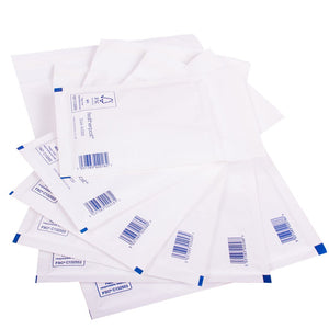 Padded Bubble Envelope in White Internal Size 230x335mm F/3