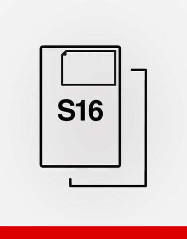 (S16) Single Integrated Label