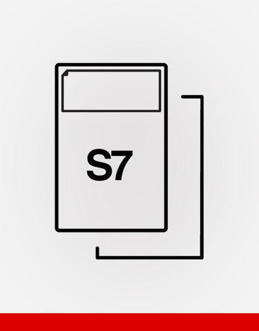 (S7) SINGLE INTEGRATED LABEL
