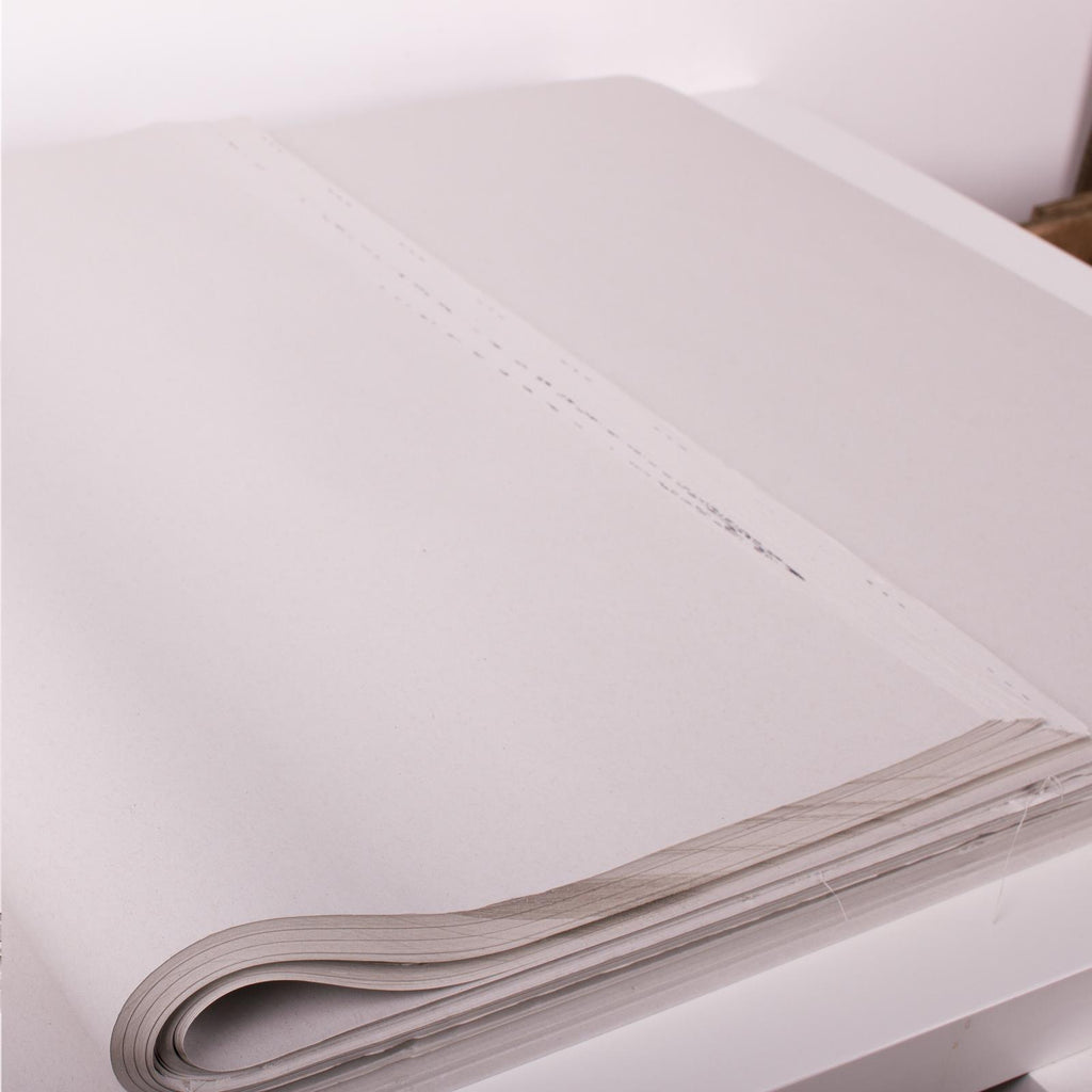 500x750mm White News Offcut Filler Paper (10KG approx 550 Sheets)