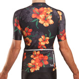 HUB Premium Men's Short Sleeve Jersey - Hawaiian Black