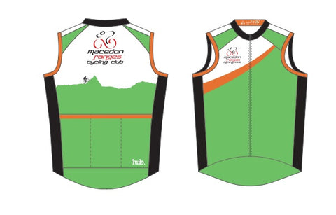 Macedon Ranges Cycling Club - wind vest