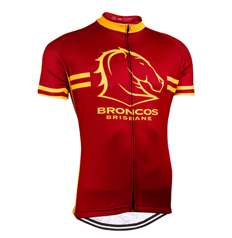 Brisbane Broncos NRL Licensed Short Sleeve Jersey