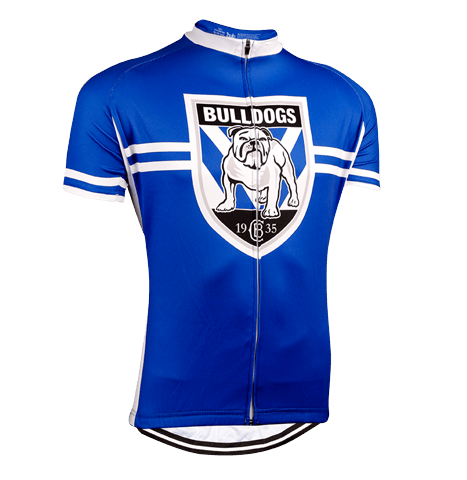 Canterbury Bulldogs NRL Licensed Short Sleeve Jersey