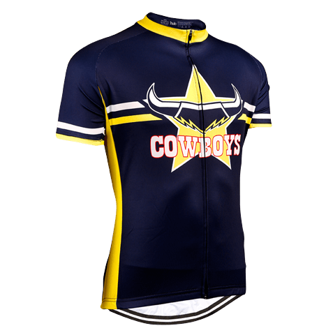 North Queensland Cowboys NRL Licensed Short Sleeve Jersey