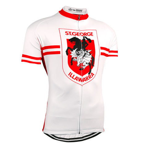 St George Dragons NRL Licensed Short Sleeve Jersey