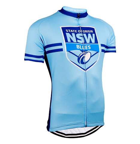 NSW Blues State of Origin NRL Licensed Short Sleeve Jersey