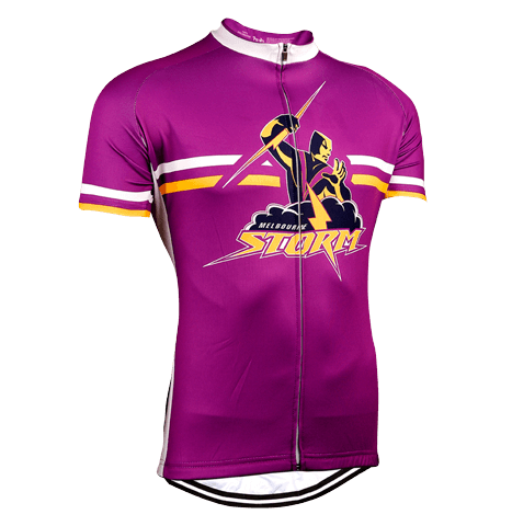Melbourne Storm NRL Licensed Short Sleeve Jersey